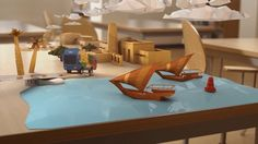 This is probably the biggest project I dis for Al Rayyan Satellite Channel. This is the opener to the kids show Rehla. It was shot with the help of the Al Rayyan Production team. I was responsible for the pre production, motion tracking, animation, compositing, rendering and image finalization. I also did most of the rigging. The classroom was shot with the RED Epic in 4k and all of the CG was done using Maya and Nuke. I really hope you like it!