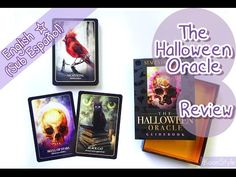 """Hi Friends~ today I'd like to share with you a small review about """"The Halloween Oracle"""" deck by Stacey Demarco; published by Blue Angel. The box comes with a great guidebook and 36 beautiful cards. I used this deck in my previous monthly tarot reading for all the horoscope signs; you can watch the video here: https://youtu.be/0Rb-dd9opck ♥."""