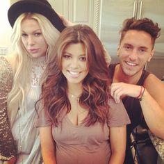Kourtney Kardashian #hair