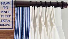 ikea hack drapes curtains