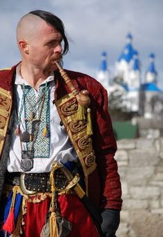 """Oseledec"": traditional hairstyle of the Cossacks. Legit."