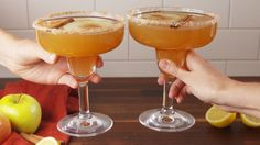 Apple Cider Margaritas - Delish.com
