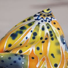 Pánský motýlek Silk Painting, Ties, Handmade, Silk, Pintura, Tie Dye Outfits, Hand Made, Neck Ties, Tie