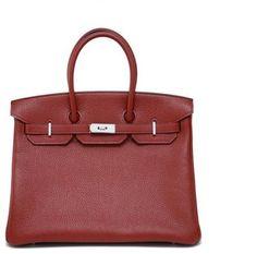 1d6ef646b Small Rouge Togo Birkin with Palladium - Lyst Shopper Bag, Hermes Birkin,  Red