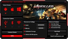 Do you want to get a Unkilled Hack Cheat Android iOS Pirater Generator that will realey work for you ? I think that you would say yes! So get it right now from here http://hacktoolheaven.com/unkilled-hack-cheat-android-ios-pirater-generator.html don't miss this great chance guys and generate free gold, money and more.