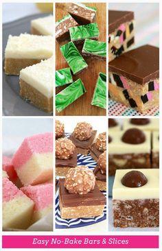 Easy No-Bake Bars & Slices