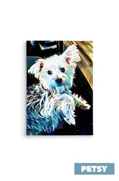 Custom Pet Art by Petsy Custom Dog Portraits, Pet Portraits, Gifts For Pet Lovers, Pet Gifts, Inspirational Gifts, Your Pet, Pup, Artists, Canvas