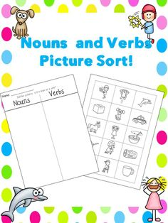 Free! Nouns and Verbs Sort!