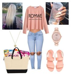 """ROMWE"" by imghtbeeblue ❤ liked on Polyvore featuring Style & Co. and Michael Kors"