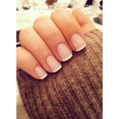All girls like beautiful nails. The first thing we notice is nails. Therefore, we need to take good care of the reasons for nails. We always remember the person with the incredible nails. Instead, we don't care about the worst nails. French Manicure Designs, Short Nail Designs, French Manicure Short Nails, French Pedicure, Acrylic French Manicure, Short French Nails, Bridal Nails French, French Tip Toes, White Tip Nails