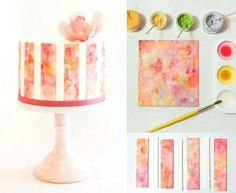 Cake and Cupcakes Decor Fondant Tips, Fondant Icing, Cupcakes, Cupcake Cakes, Biscuit, Cake Tutorial, Craft Tutorials, Cake Decorating, Candle Holders