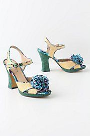 Anthropologie Collected Confetti Heels