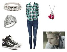 """""""Katherine Cullen - Chapter 57"""" by emogirl19954 ❤ liked on Polyvore featuring Miss Selfridge, Forever 21 and Converse"""