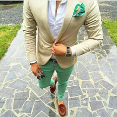 Mint green.. So summery