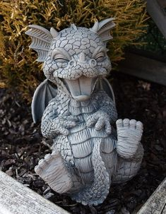 Dragon decor Dragon garden Dragon statue Dragon sculpture Dragon Dragon art - Baby dragon dragon fantasy creature harry potter world gift for potterhead gift for geeks fantastic beast the - Statue Tattoo, Dragon Statue, Dragon Art, Harry Potter Beasts, Dragon Garden, Dragon House, Greek Statues, Buddha Statues, Stone Statues