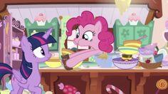 #1554612 - alicorn, chocolate, food, pinkie pie, safe, secrets and pies, spoiler:s07e23, twilight sparkle, twilight sparkle (alicorn) - Derpibooru - My Little Pony: Friendship is Magic Imageboard