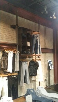Clothes hanging ideas different angle