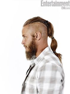 Travis Fimmel Viking Hair Related Keywords and Suggestions - Travis . Vikings Travis Fimmel, Vikings Ragnar, Viking Haircut, Viking Hairstyles, Male Hairstyles, Hair And Beard Styles, Long Hair Styles, Viking Braids, Haircuts For Men