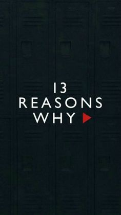 This was a brilliant series that, although I put off for a bit as I thought it was mainstream trash like big brother or something, I found that it was very intriguing and had a darker tone which made a nice change from what I regularly watch. 13 Reasons Why Quotes, 13 Reasons Why Netflix, Thirteen Reasons Why, 13 Reasons Why Poster, 13 Reasons Why Aesthetic, Image Triste, Netflix Series, Things To Think About, Kpop