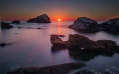 Lost. Sunset alomg the Tuscany coast in Italy #art #fineart #photography #sunset