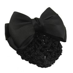 TOOGOO(R) Black Bowknot Decor Snood Net Barrette Hair Clip Bun Cover *** This is an Amazon Affiliate link. Check out this great product.