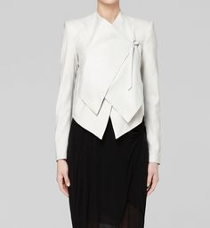 Helmut Lang, LINEN VISCOSE SUITING JACKET