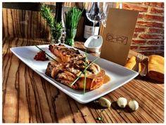 CHAR Modern cocina & grill, La Caleta - Restaurant Reviews, Phone Number & Photos - TripAdvisor Tenerife, Pulled Pork, Trip Advisor, Waffles, Grilling, Beef, Breakfast, Ethnic Recipes, Modern