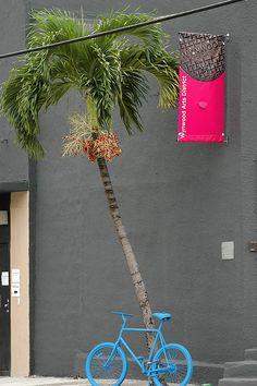 Bicycle Installation Art - Art Basel Miami 2009 Wynwood