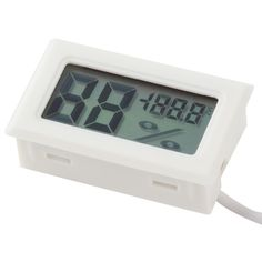 Popular New Onfine Leo 1PC Mini Thermometer Hygrometer Temperature Humidity Meter Digital LCD Display