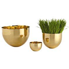 ARTERIORS Home Stockholm Polished Brass Bowl | Wayfair