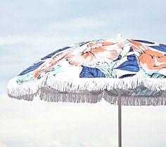 Beach Umbrella // From Gold Blog