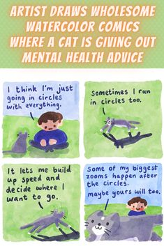 Cat Comics, Funny Comics, Happy Potato, Funny Stuff, Random Stuff, Def Leppard, Black Swimsuit, Health Advice, Bored Panda