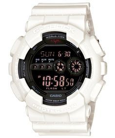 Men's Wrist Watches - Mens GShock Limited Edition Nigel Sylvester Collaboration Watch White One Size >>> Want additional info? Click on the image.
