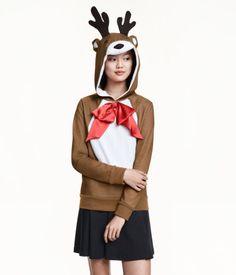 Poro huppari / Reindeer sweater | H&M FI