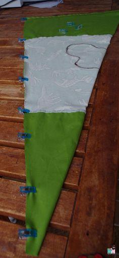 Sewing Pattern and Instructions for a Sugar Bag / School Bag Free – Bag Ideas Diy Bags For School, Diy Back To School, School Ideas, School Pack, I School, Schultüte Diy, Diy 2019, Back To School Organization, Diy Handbag