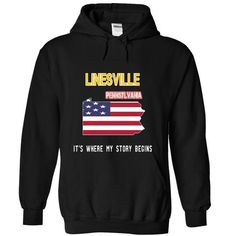 LINESVILLE - Its where my story begins! - #tshirt bemalen #country hoodie. TAKE IT => https://www.sunfrog.com/LifeStyle/LINESVILLE--Its-where-my-story-begins-4724-Black-19950446-Hoodie.html?68278