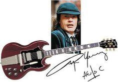 Anuncio de AC/DC en la televisión