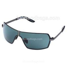 Porsche Design Men's Green Sunglasses with Black/Grey Frame