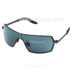 Porsche Design Men's Green Sunglasses with Black/Grey Frame