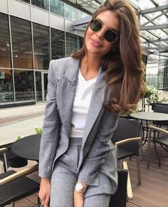 Business Look #look #buisness #blazer #sunglasses #style #... | Z-Me Zaful Community