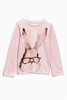 Watercolour Bunny T-Shirt (3mths-6yrs)