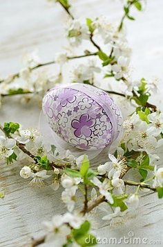 Easter / Spring / Purple and Green   and Lilac