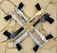 Desert Eagles..