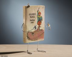 Terry Border's Animated Old Books