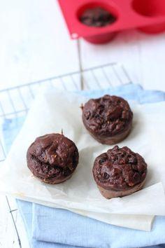 Gezonde choco-muffins