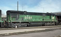 Burlington Northern GE C30-7 # 5085 at Denver, Colorado