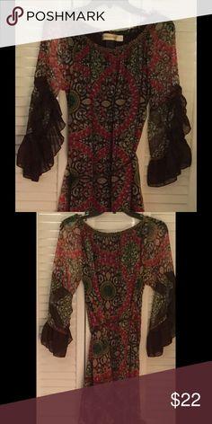 Spotted while shopping on Poshmark: Feminine Fall Tunic Worn Once! #poshmark #fashion #shopping #style #Urban Mangoz #Tops