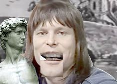 A Cutout of Young Terry Gilliam