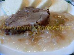 Dušené hlávkové zelí Meat, Food, Cooking, Eten, Meals, Diet