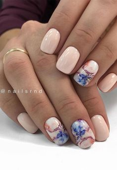 Marble Nail Designs, Acrylic Nail Designs, Nail Art Designs, Square Nail Designs, Design Art, Plage Nail Art, Faux Ongles Gel, Nagellack Design, Nail Tattoo